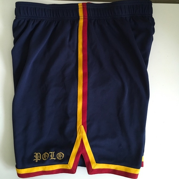 50fcb400b6 ... amazon vintage polo by ralph lauren basketball shorts f5666 23aca